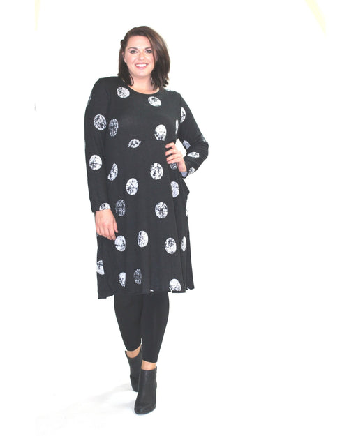 Spot Polka Dress - Sizes 10 only