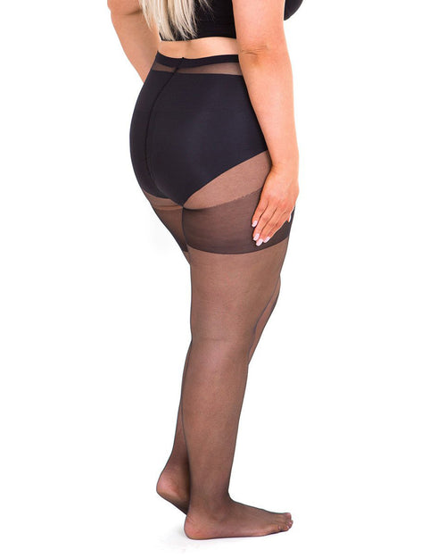 Sheer 20 Denier Tights - Black