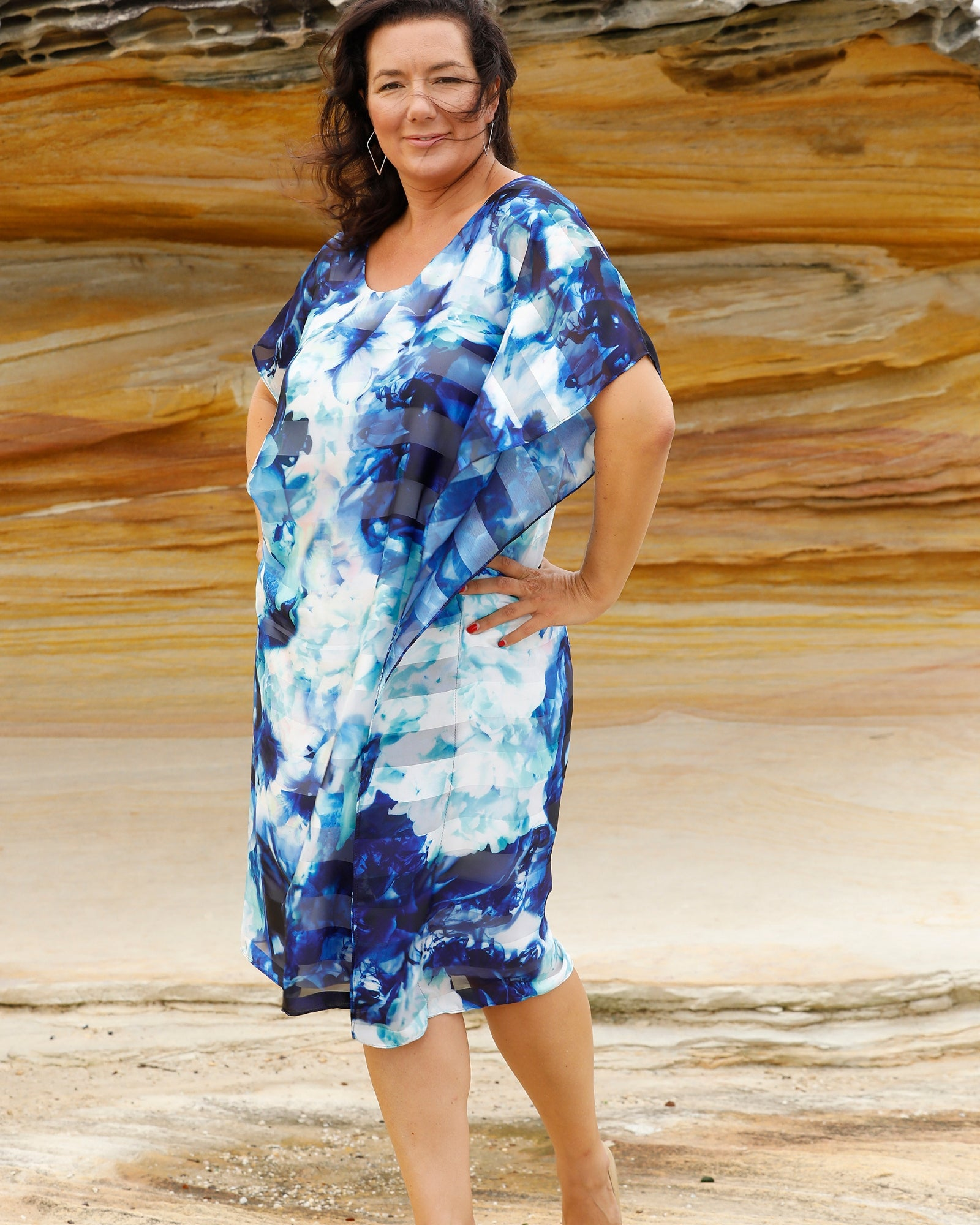 Shirley Kaftan Dress
