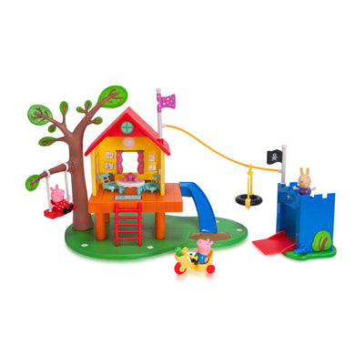 http://www.ebay.com/i/Peppa-Pigs-Treehouse-and-Georges-Fort-Playset-/362160467205