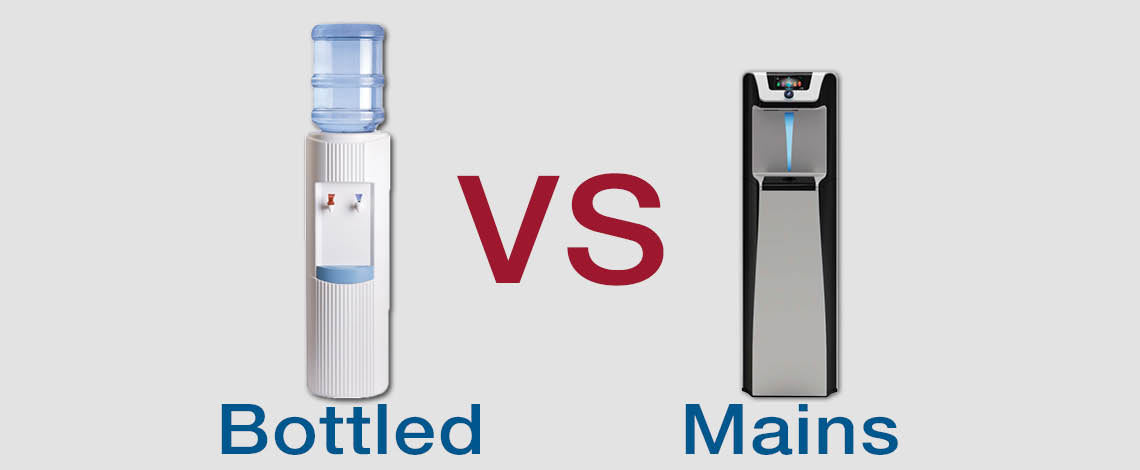 Bottled Water Cooler vs Mains Water Cooler – Which Is Best?