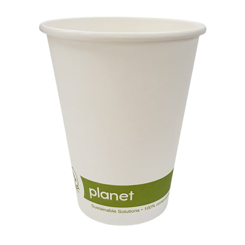 Compostable Paper Hot Cups 12oz