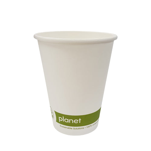 Compostable Paper Water Cups 7.5oz