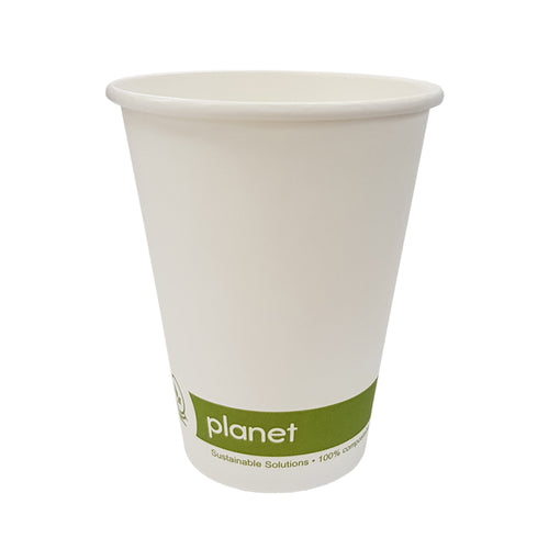 Compostable Paper Hot Cups 8oz