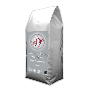 Infuso Italian Mahogany Fair Trade Roast and Ground Coffee