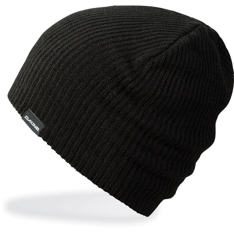 Tall Boy Beanie Black - Vintage Surf Co