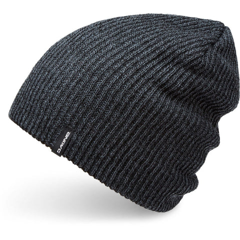 Tall Boy Reverse Beanie Black / Dark Slate - Vintage Surf Co