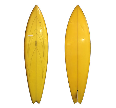 Fluid Visions 6'6 Collector Surfboard - Vintage Surf Co
