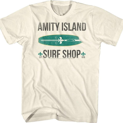 Amity Island Surf Shop Shirt - Vintage Surf Co