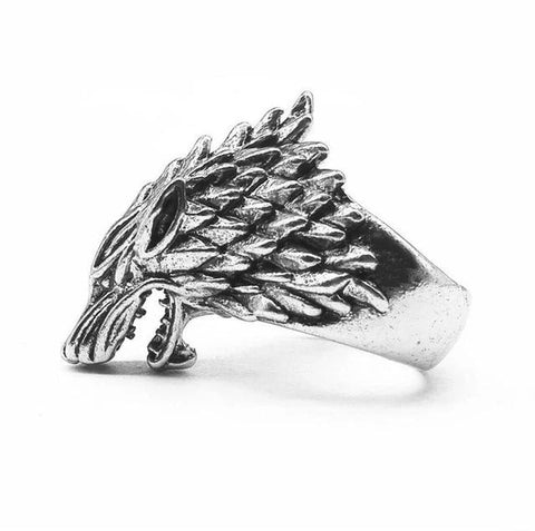 The Witcher Wolf Head Ring - Vintage Surf Co