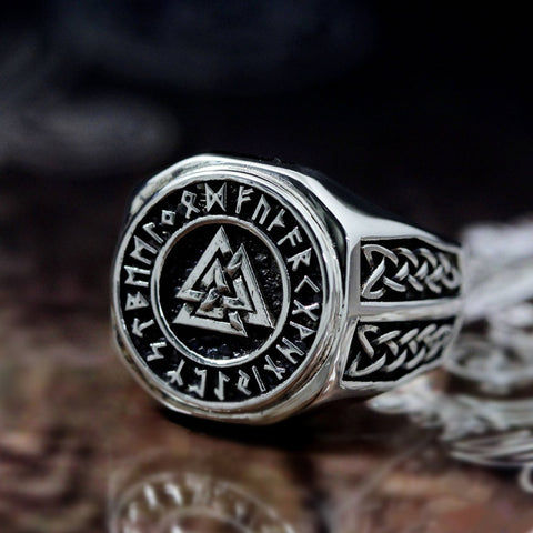 The Valknut Ring - Vintage Surf Co