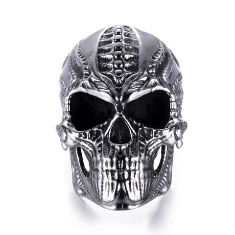 Alien Skull Ring - Vintage Surf Co