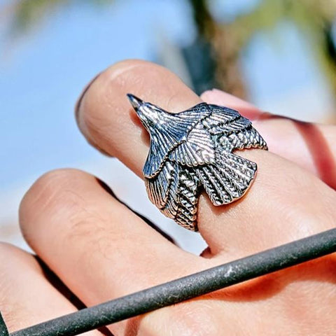 SKYY HIGH EAGLE RING - Vintage Surf Co