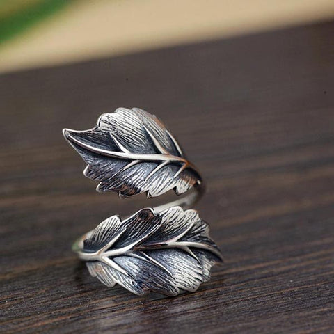 Vintage Leaf Ring - Vintage Surf Co