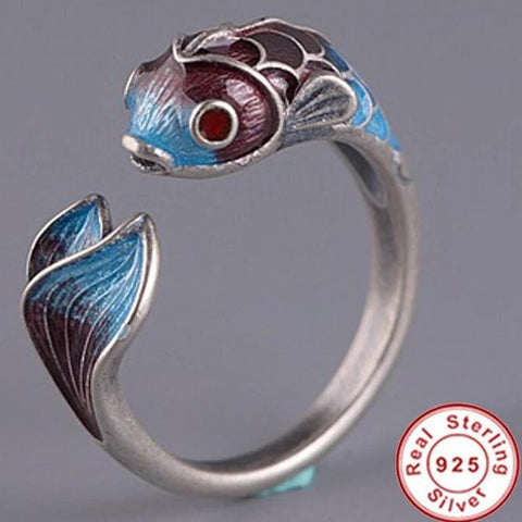 Love fish ring - Vintage Surf Co