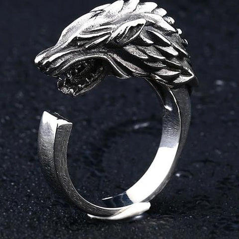 Witcher Wolf Ring - Vintage Surf Co