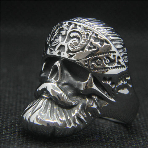 EL VATO Skull Ring - Vintage Surf Co