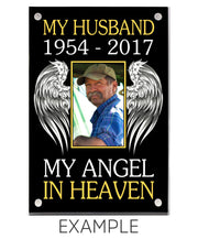 "4""x 6"" w/ Double Sided Print My Angel in Heaven Custom Acrylic Framed Photo"