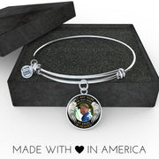 Angel in Heaven Memorial Photo Bangle