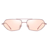 Octagon Rose tinted shades - Ferosh