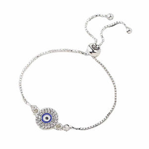 Ferosh Silver  Evil Eye Bracelets For Women - Evil Eye Collection