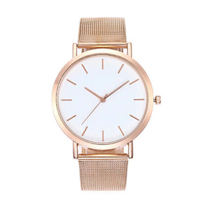 Cordelia Metallic Gold Everyday Watch - Ferosh
