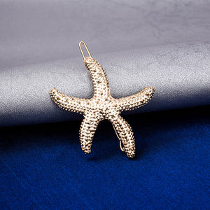 Kyara Starfish Gold Hair Pin - Ferosh