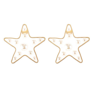 Ferosh Minimal Fashion Star Earrings For Women - Earrings Online