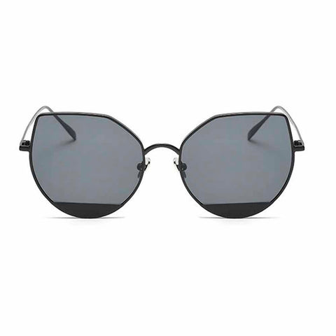 Emina Cat-Eyed Black Sunglasses - Ferosh