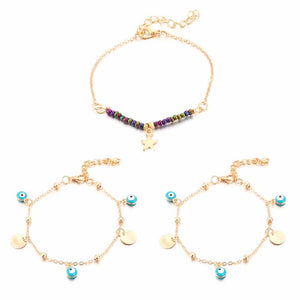 Ferosh Evil Eye Anklets For Women - Evil Eye Collection