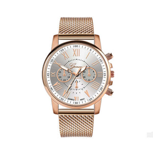 Estrid Gold-White Watch - Ferosh