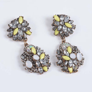 Charish Earrings - Neon