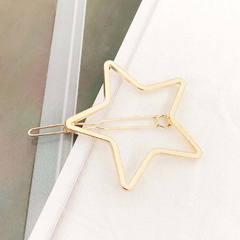 Sparkling Star Gold Hairpin