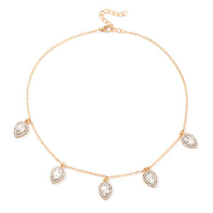 Ferosh Golden Chain Necklace For Women - Necklaces Online