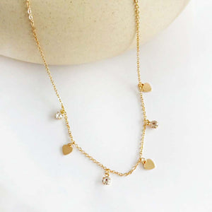 Ferosh Golden Chain Necklace For Women - Necklace Jewellery For Women