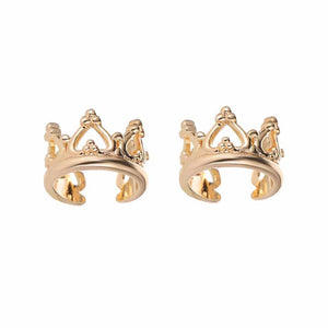 Ferosh Heidi Golden Crown Ear Clip