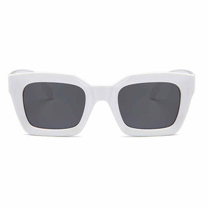 Heidi All-White Grey Sunglasses - Ferosh