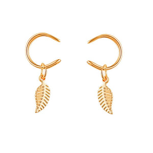 Ferosh Gold Earclip For Women - Earrings Online