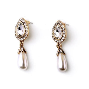 Ferosh Jorality Pearl Statement Earrings