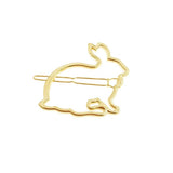 Leverette Golden Bunny Hair Pin - Ferosh