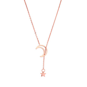 Ferosh Rose Gold Necklace For Women - Necklaces Online
