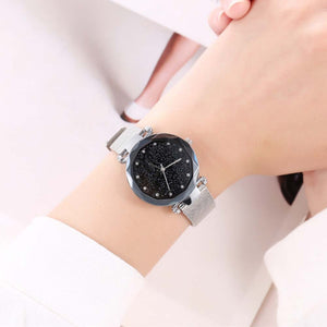Maxima Silver Metallic Watch - Ferosh