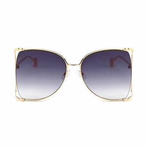 Quirky Violet Ombre Cat-Eyed Sunglasses - Ferosh