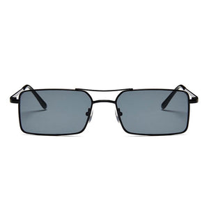 Raven All-Black Rectangular Aviators - Ferosh