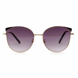 Roxana Mirrored Shaded Cat-Eyed Aviators - Ferosh