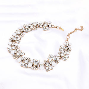 Ferosh Crystal Stone Statement Necklace for Women - Neckpieces Online