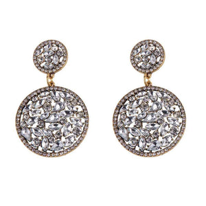 Ferosh Siara Crystal Drop Earrings
