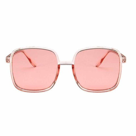Sultry Pink Transparent Sunglasses - Ferosh