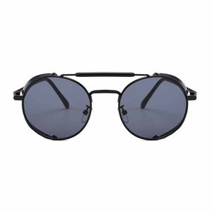 Ferosh Throwback Black Telescopic Aviators