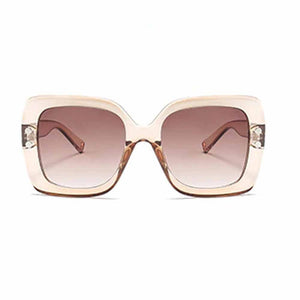 Ferosh Translucent Inky Brown Sunglasses